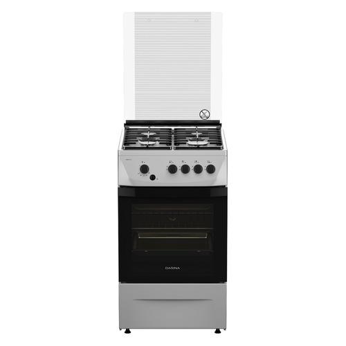 цена на Газовая плита DARINA 1D1 GM 241 014 Х, газовая духовка, нержавеющая сталь