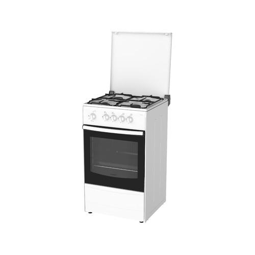 лучшая цена Газовая плита DARINA 1A GM 441 002 W, газовая духовка, белый
