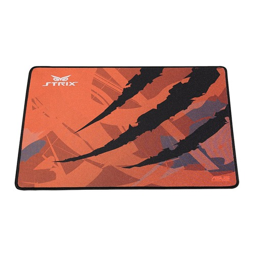 Коврик для мыши ASUS Strix GLIDE SPEED, оранжевый/черный [90yh00f1-bdua01] коврик asus strix glide speed orange black