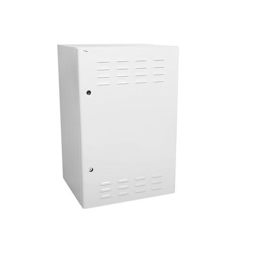 Шкаф коммутационный ЦМО (ШТВ-Н-18.6.5-4ААА) настенный 18U 600x530мм пер.дв.стал.лист несъемн.бок.пан h b070d 18u