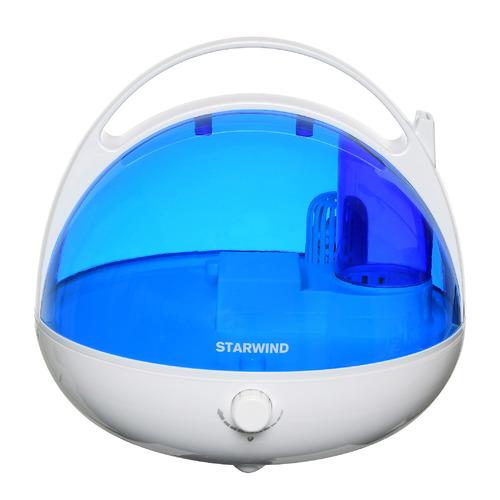 Фото - Увлажнитель воздуха STARWIND SHC2416, белый / синий увлажнитель воздуха starwind shc1232 25вт ультразвуковой белый голубой
