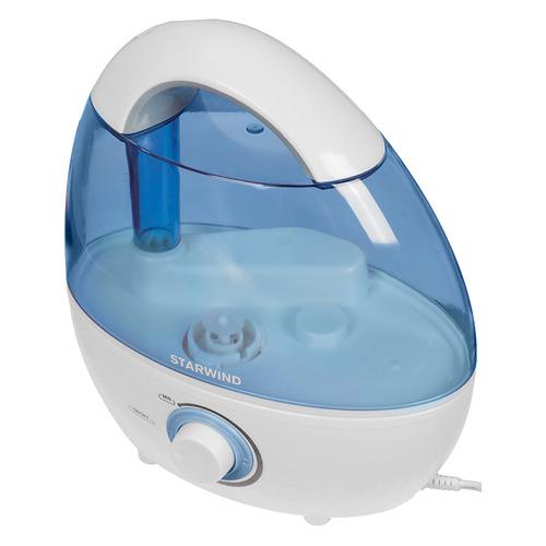 Увлажнитель воздуха STARWIND SHC2216, белый / синий цены