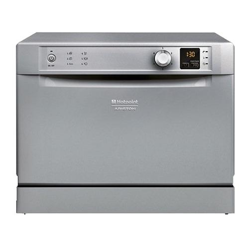 Посудомоечная машина HOTPOINT-ARISTON HCD 662 S EU, компактная, серебристая все цены