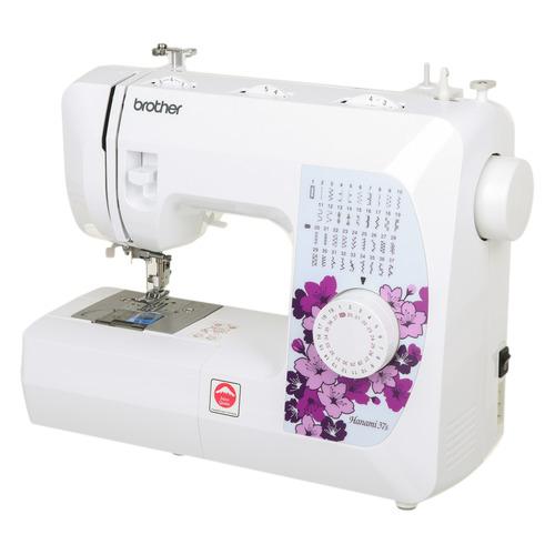 Фото - Швейная машина BROTHER Hanami 37s белый [hanami37s] швейная машинка brother hanami 27s