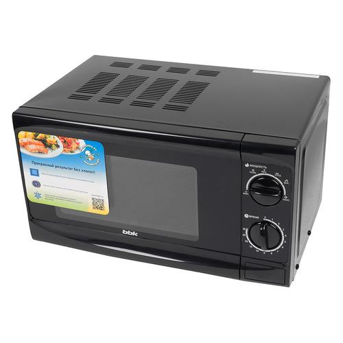 Микроволновая печь BBK 20MWS-706M/B, 700Вт, 20л, черный