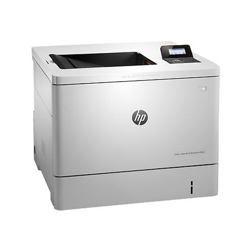 Фото - Принтер лазерный HP Color LaserJet Enterprise M552dn лазерный, цвет: белый [b5l23a] принтер hp laserjet enterprise m607dn a4 52 стр мин дуплекс 512мб usb ethernet