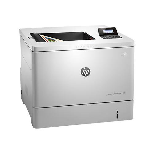 Принтер лазерный HP Color LaserJet Enterprise M553dn лазерный, цвет: белый [b5l25a] принтер hp color laserjet enterprise m553dn b5l25a