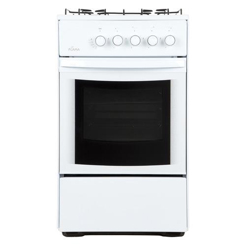 Фото - Газовая плита FLAMA RG 24019 W, газовая духовка, белый газовая плита flama rg 24019 w