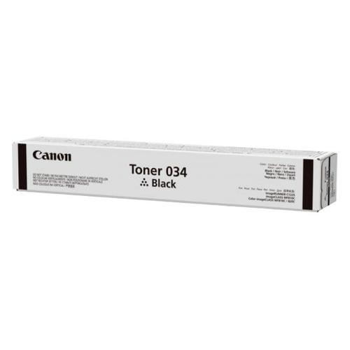 цена на Тонер CANON 034, для iR C1225iF, черный, туба
