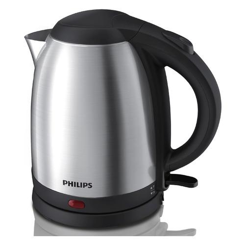 Чайник электрический Philips HD9306, 1800Вт, серебристый и черный