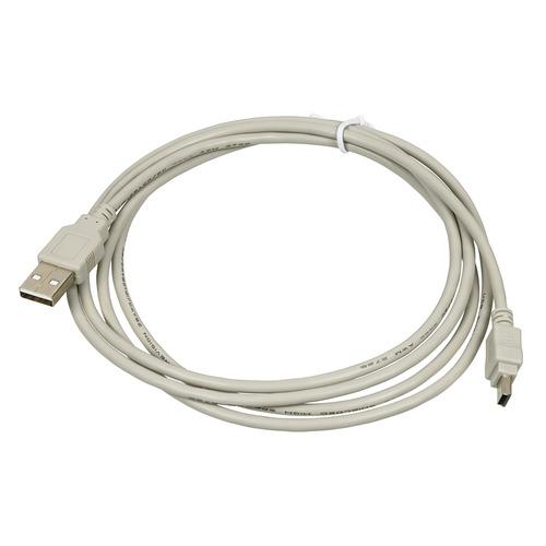 Фото - Кабель USB2.0 USB A(m) - mini USB B (m), 1.8м, серый gps навигаторы