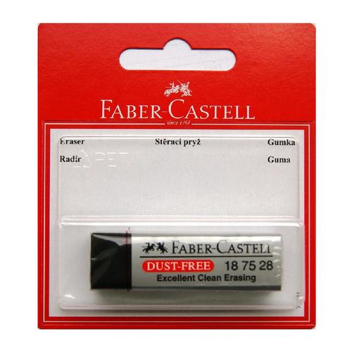 Упаковка ластиков FABER-CASTELL DUST FREE, черный [263424]