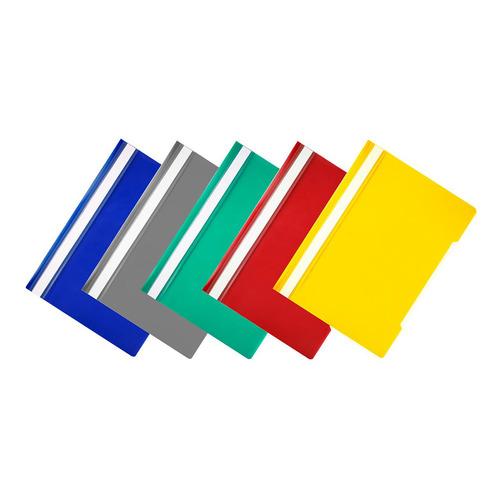 Упаковка папок-скоросшивателей БЮРОКРАТ -PS20/1, A4, пластик, ассорти 200 шт./кор. папка скоросшиватель бюрократ ps20turg a4 прозрач верх лист пластик бирюзовый 0 12 0 16 200 шт кор
