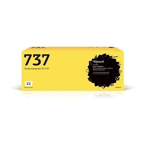 цена на Картридж T2 TC-C737, 737, черный