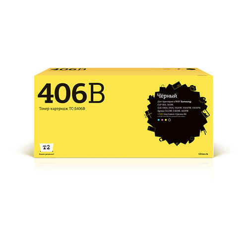 Картридж T2 CLT-K406S, черный [tc-s406b] картридж t2 cb324he 178xl ic h324