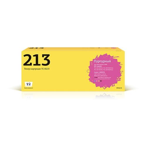Фото - Картридж T2 TC-H213, CF213A, пурпурный картридж t2 tc hcf403x пурпурный