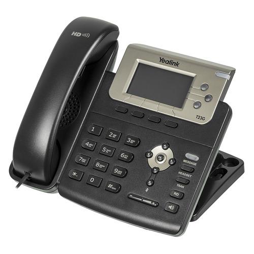 SIP телефон YEALINK SIP-T23G sip телефон yealink sip t58a [sip t58a with camera]