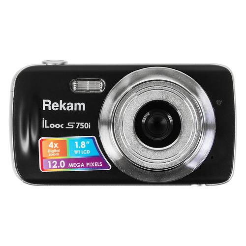 Фото - Цифровой фотоаппарат REKAM iLook S750i, черный фотоаппарат