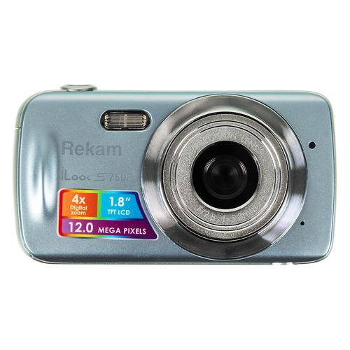 цена на Цифровой фотоаппарат REKAM iLook S750i, серый