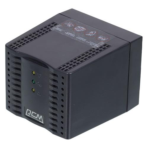 Стабилизатор напряжения POWERCOM TCA-3000 Black черный
