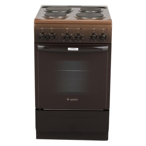 Электрическая плита GEFEST ЭП Н Д 5140-01 0036, эмаль, коричневый
