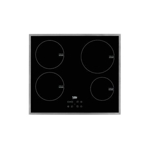 Варочная панель BEKO HII 64400 ATX, индукционная, независимая, черный