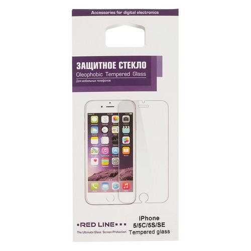 Защитное стекло для экрана REDLINE для Apple iPhone 5/5s/5c/SE, 1 шт [ут000004780] стоимость
