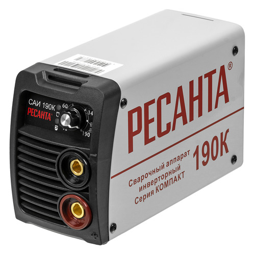 Сварочный аппарат инвертор РЕСАНТА САИ-190К [65/36] цена 2017