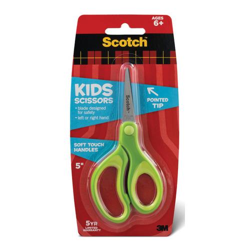 Фото - Упаковка ножниц 3M 7000043150 1442P детские, 120мм, нержавеющая сталь, зеленый, блистер 6 шт./кор. упаковка ножниц maped 463010 детские 24 шт кор