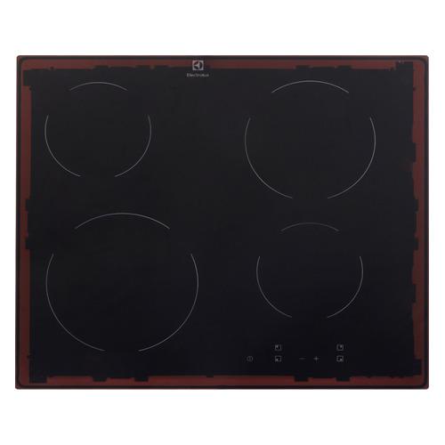 Варочная панель ELECTROLUX EHV56240AK, Hi-Light, независимая, черный