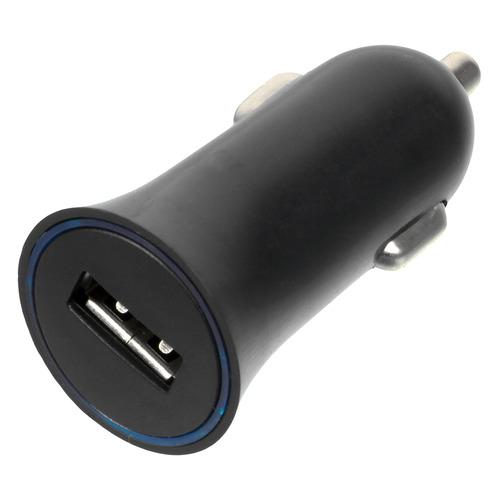 Автомобильное зарядное устройство WIIIX UCC-1-4B, USB, 1A, черный запчасти для mp3 плееров