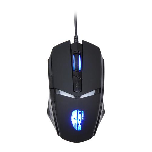 Мышь OKLICK 795G GHOST, игровая, оптическая, проводная, USB, черный [mw-1321] мышь oklick 185m оптическая проводная usb черный [m201]