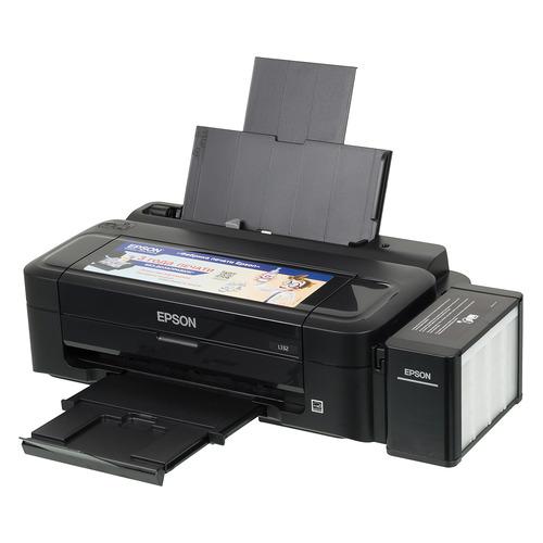 цена на Принтер струйный EPSON L132, струйный, цвет: черный [c11ce58403]