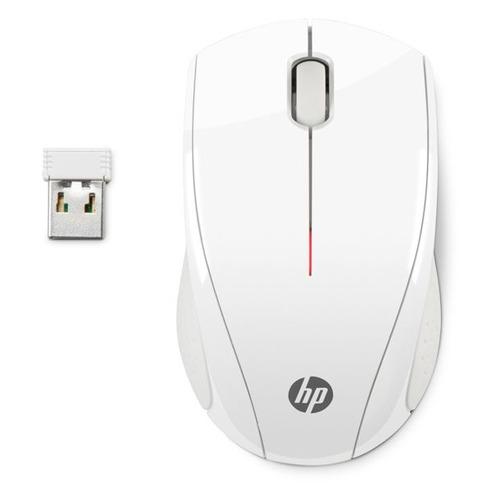 лучшая цена Мышь HP X3000, оптическая, беспроводная, USB, белый [n4g64aa]