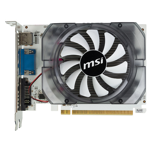 Видеокарта MSI nVidia GeForce GT 730 , N730-2GD3V2, 2Гб, DDR3, Ret