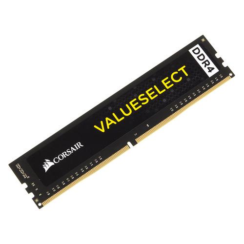 Модуль памяти CORSAIR Value Select CMV4GX4M1A2133C15 DDR4 - 4Гб 2133, DIMM, Ret модуль памяти corsair value select cmv8gx4m1a2400c16 ddr4 8гб 2400 dimm ret