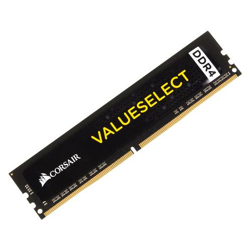 Модуль памяти CORSAIR Value Select CMV8GX4M1A2133C15 DDR4 - 8Гб 2133, DIMM, Ret модуль памяти corsair value select cmv8gx4m1a2400c16 ddr4 8гб 2400 dimm ret