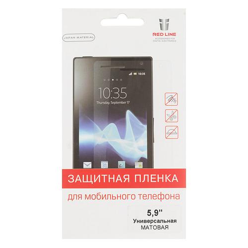 Защитная пленка для экрана REDLINE для смартфонов 5.9, 37 х 131 мм, матовая, 1 шт [ут000006764] пленка