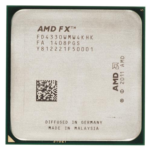 Процессор AMD FX 4330, SocketAM3+, OEM [fd4330wmw4khk] цена и фото