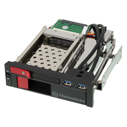 Mobile rack (салазки) для HDD THERMALTAKE Max5 Duo ST0026Z, черный