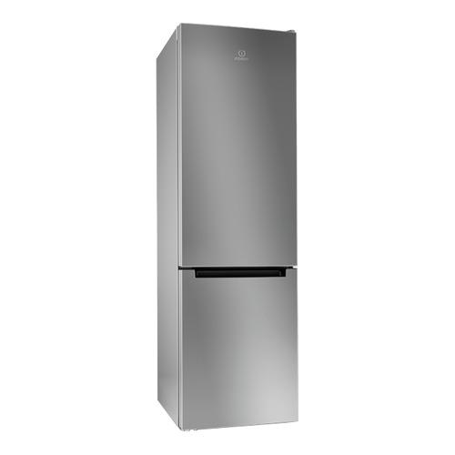 Холодильник INDESIT DFE 4200 S, двухкамерный, серебристый цена и фото