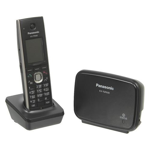 Фото - SIP телефон PANASONIC KX-TGP600RUB радиотелефон dect panasonic kx tgp600rub черный