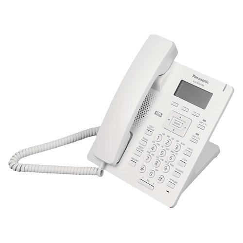 SIP телефон PANASONIC KX-HDV130RU sip телефон escene es330 pen 3 sip аккаунта 132x64 lcd дисплей 8 программируемых клавиш 12 клавиш быстрого набора blf xml ldap регулируемая подст