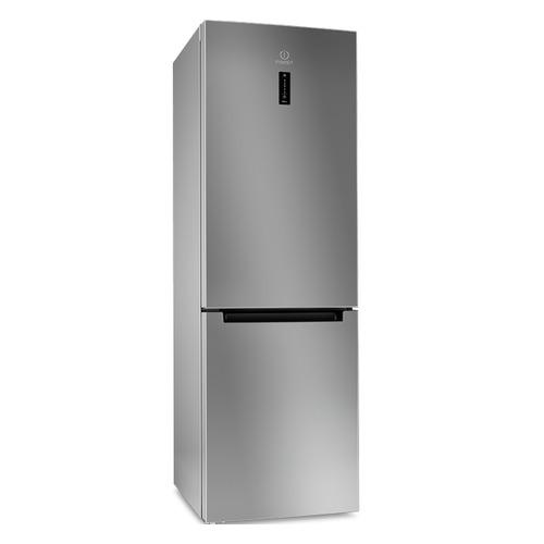 Холодильник INDESIT DF 5180 S, двухкамерный, серебристый холодильник indesit df 5180 s двухкамерный серебристый