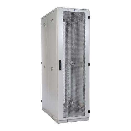 Шкаф серверный ЦМО (ШТК-С-42.8.10-44АА) 42U 800x1050мм пер.дв.перфор. 2 бок.пан. 1000кг серый