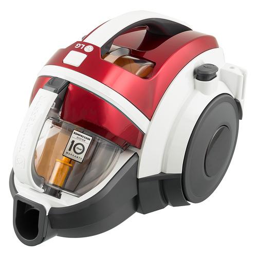 Пылесос LG VK89380NSP, 1800Вт, красный/белый цена и фото