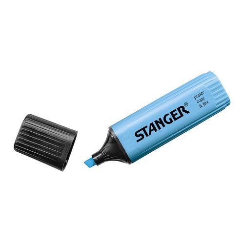 Текстовыделитель Stanger 180005000 синий 10 шт./кор. текстовыделитель 1546 синий