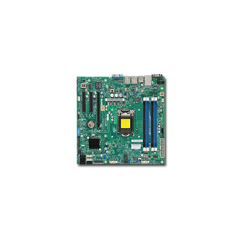 Серверная материнская плата SUPERMICRO MBD-X10SLL-F-O, Ret материнская плата supermicro mbd x10slm f o soc 1150 ic224