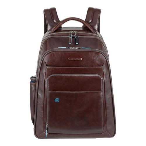 Рюкзак унисекс Piquadro Blue Square CA1813B2/MO коричневый натур.кожа цена и фото