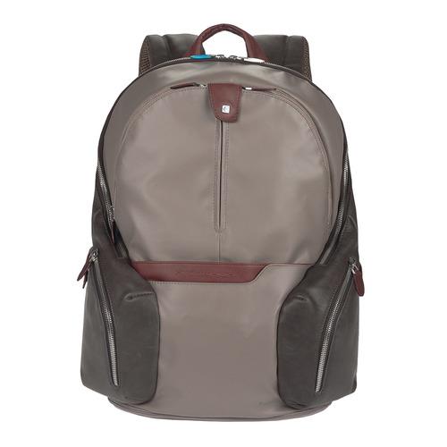 Рюкзак Piquadro Coleos CA2943OS/TO серый натур./искуст. кожа рюкзаки piquadro ca2943os n